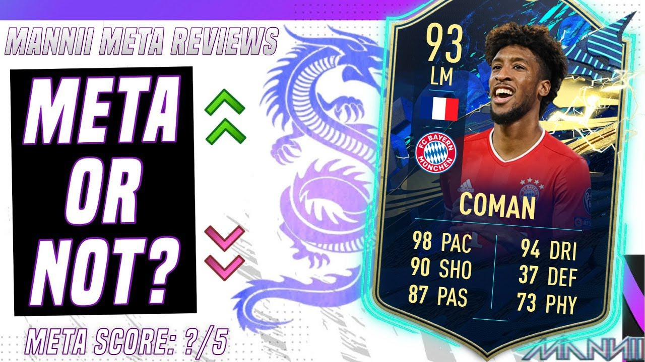 Download FIFA 21 - 93 KINGSLEY COMAN TEAM OF THE SEASON PLAYER REVIEW!