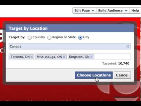Geo-Targeting Your Facebook Posts - By @todmaffin