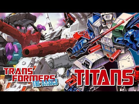 TRANSFORMERS: THE BASICS on TITANS