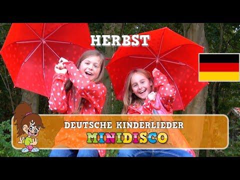 Herbst | Deutsche Kinderlieder | IM WALD | Kindergarten Songs | Kinder Tanz Songs von Minidisco