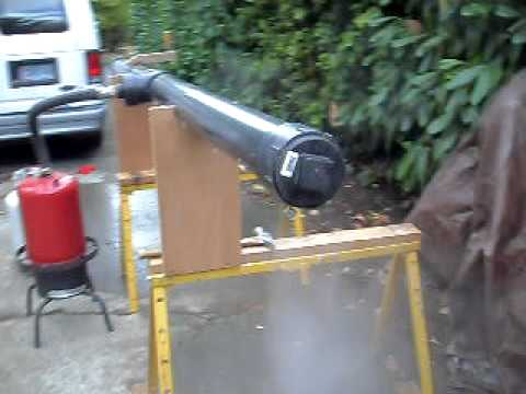 Steaming wood. The set up.AVI