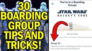 30 Boarding Group Tips and Tricks YOU NEED TO KNOW For Rise of the Resistance!