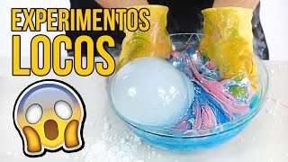LOOK WHAT HAPPENS IF YOU MIX DRY ICE WITH SLIME... AWESOME