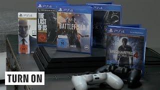 Spiele im Vergleich // PS4 vs PS4 Pro - TURN ON Tech