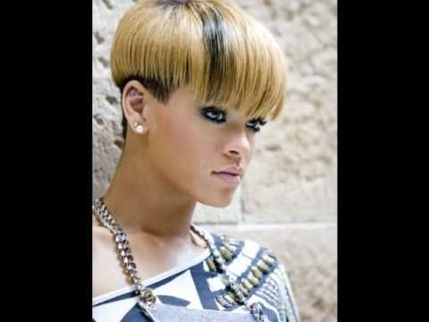 Rihanna Short Hair Styles Youtube