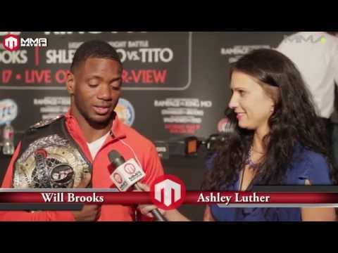 """Bellator 120 Interview With  """"Ill Will""""  Brooks"""