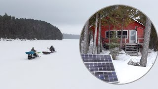 Day in the Life at the Off Grid Cabin - Low on Food and Power