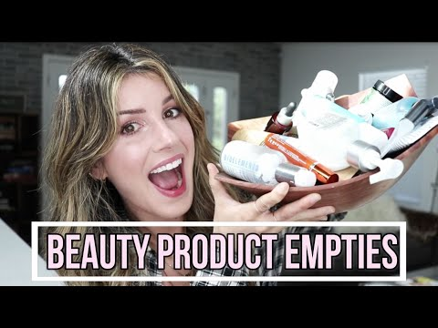 BEAUTY PRODUCT EMPTIES 2017  Best Skincare, Hair and Makeup Products!