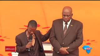 Controversial pastor Mboro also prayed  for Ntlemeza to win his legal battles
