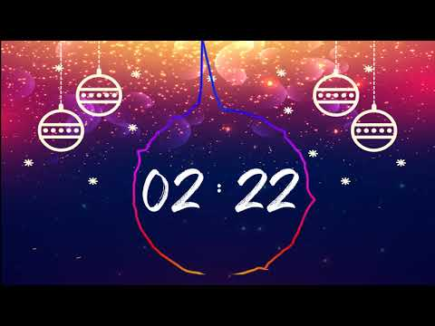 Cool Christmas Countdown Timer With Music