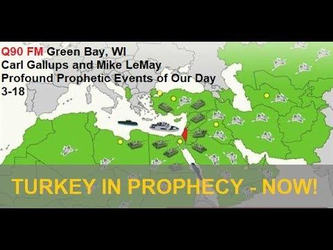 PROFOUND! Graham/Hawking | Turkey in Prophecy | Trump Israel - Carl Gallups on Q90 FM Green Bay