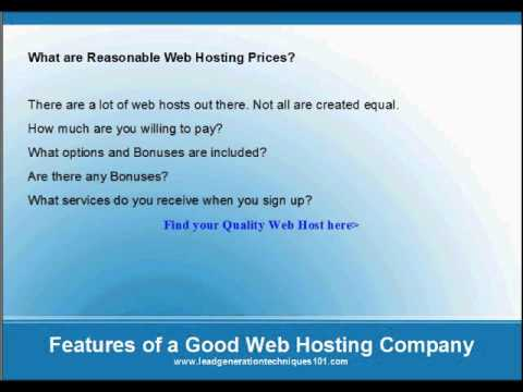 Finding the Best Web Hosting Company to Host Your Website For Less Money