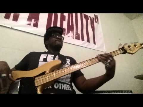 Walking in favor by john p kee bass cover
