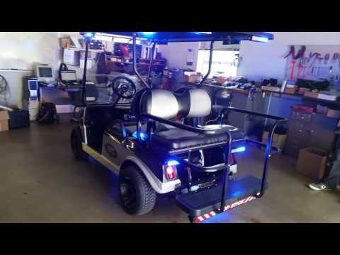 NC Highway patrol golf cart