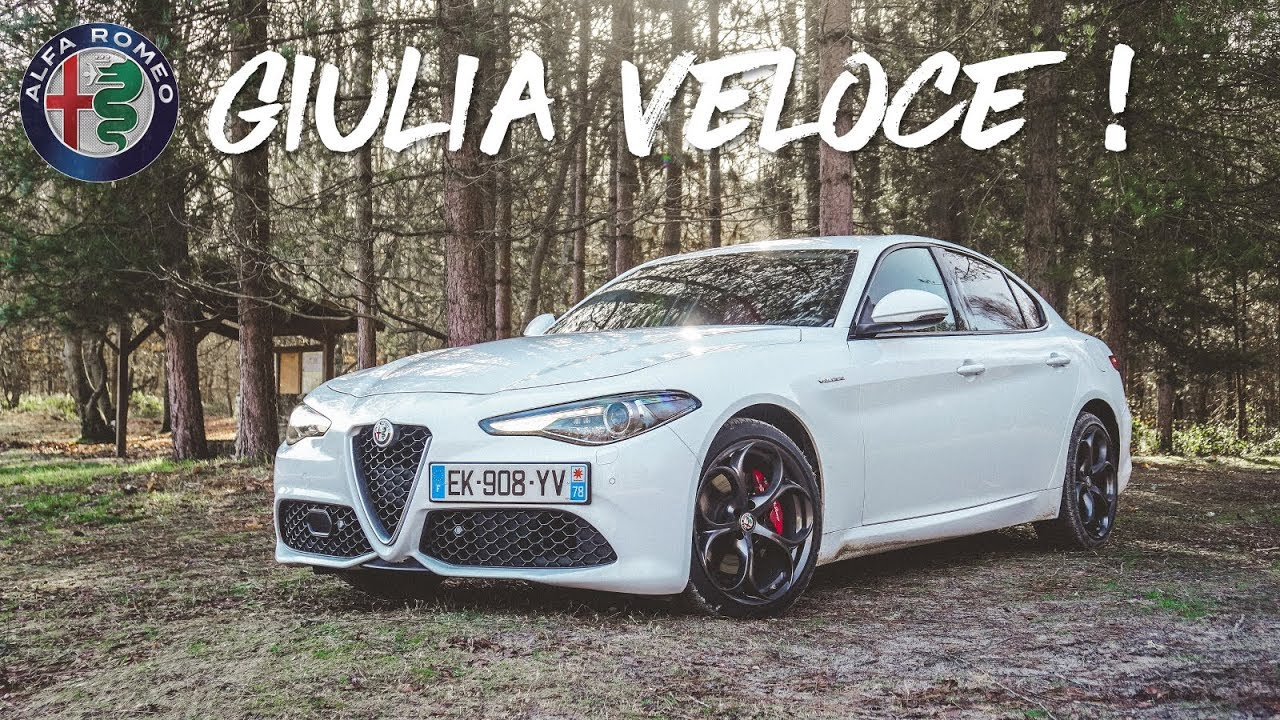 essai alfa romeo giulia veloce 280ch sensationnelle youtube. Black Bedroom Furniture Sets. Home Design Ideas