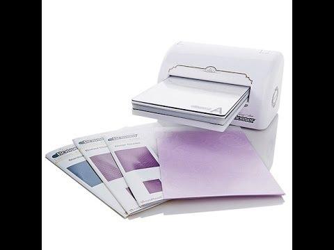 Teresa Collins eBosser Bundle with 5 Embossing Folders