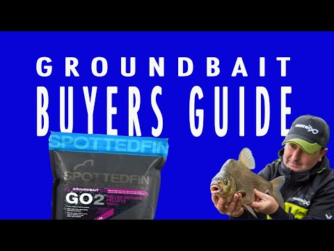 SPOTTED FIN MILLED BETAINE PELLETS GROUNDBAIT GUIDE - FISHING BAITS