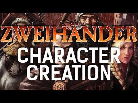 Zweihänder RPG - Test Character Creation