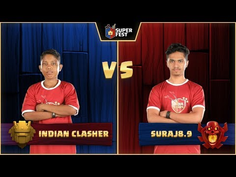 #SuperFest - Clash Of Clans - 1V1 - Match 2