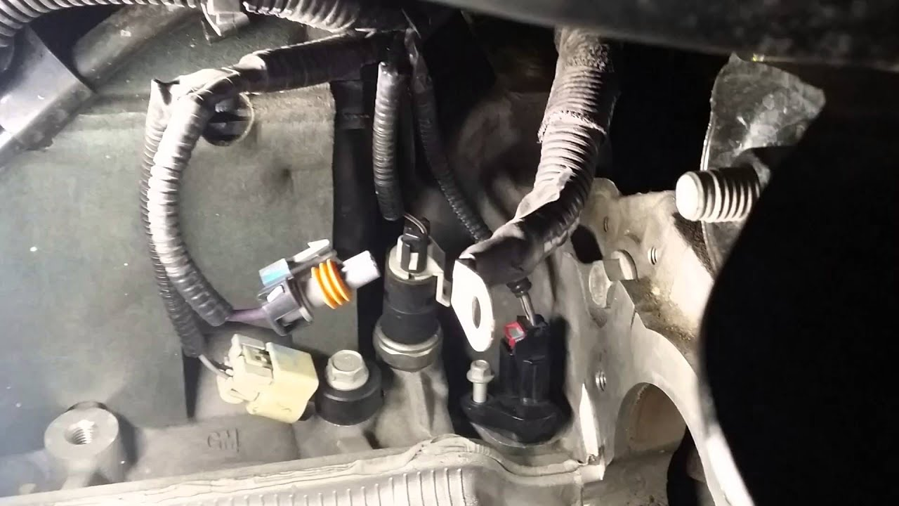crankshaft position sensor location for 2013 chevy equinox
