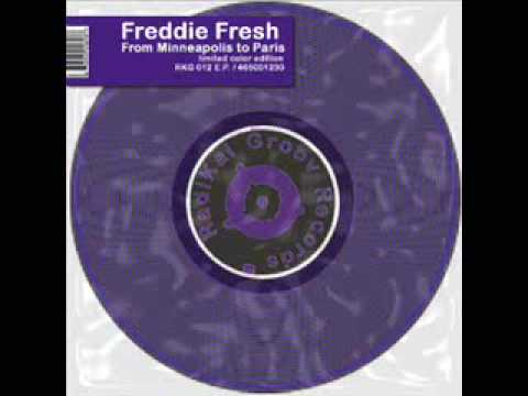 Freddie Fresh - Florence - From Minneapolis to Paris EP - Radikal Groov Records - 1994