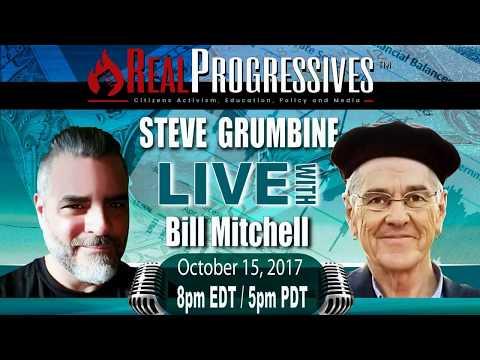 Steve Grumbine with Dr. Bill Mitchell