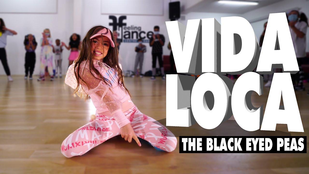Download VIDA LOCA  - The Black Eyed Peas, Nicky Jam, Tyga | Kids Street Dance | Sabrina Lonis Choreo