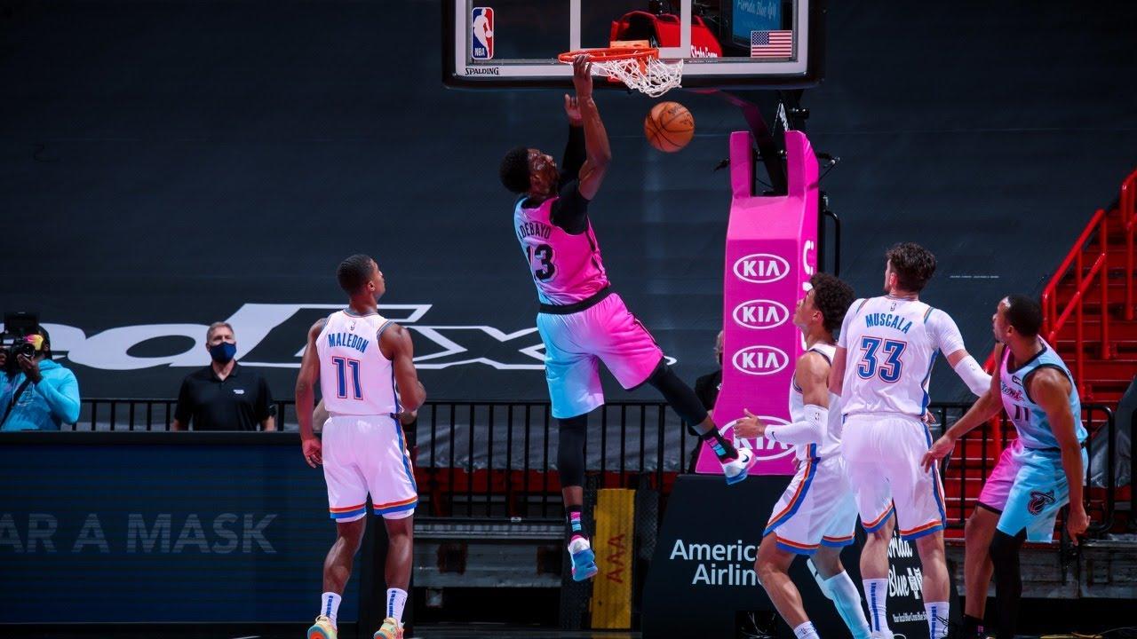 Miami Heat 118-90 Oklahoma City Thunder Post-Game Show - YouTube