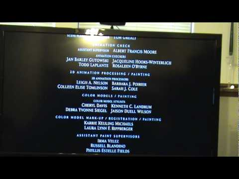Lilo and Stitch End Credits - YouTube