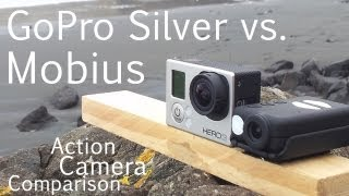 Mobius Action Camera vs. GoPro Hero Silver Comparison