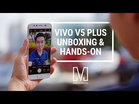 Vivo V5 Plus Unboxing & Hands-on