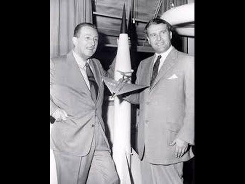 Walt Disney: Space, NASA founder Von Braun in Antarctica & JFK