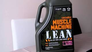Grenade - Muscle Machine Lean Review - @AndroSupplement