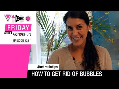 How To Get Rid Of Epoxy Resin Bubbles