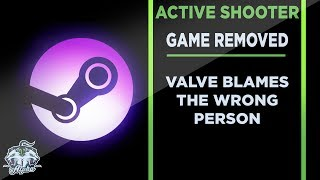 Active Shooter Game Removed From Steam After Controversy