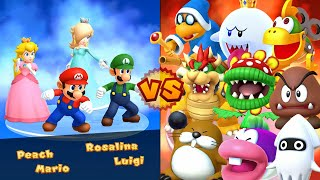 Mario Party 10 - All Bosses (4 Players)