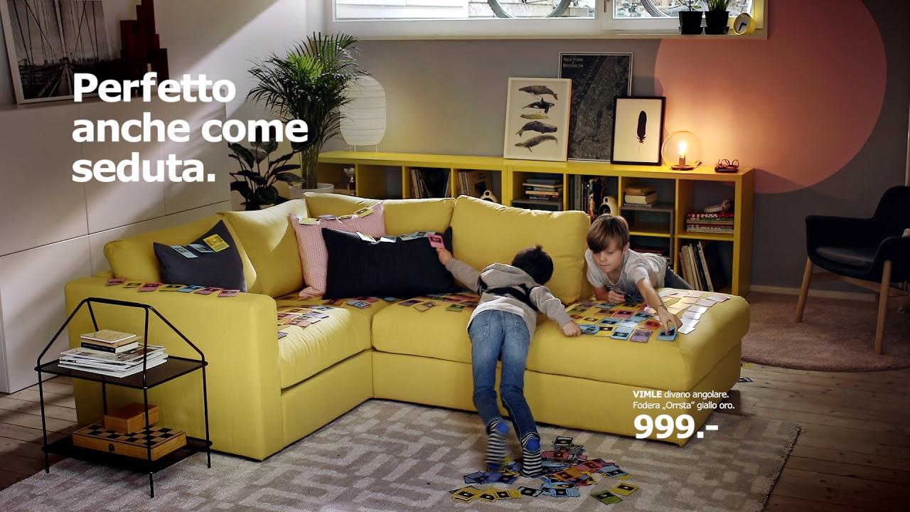Vimle perfetto anche come seduta youtube for Ikea a modo tuo