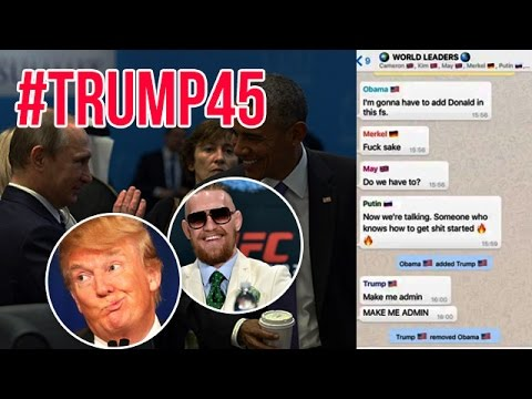 Hilarious Donald Trump And World Leaders Group Chat