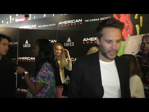 American Assassin Premiere - Taylor Kitsch (Ghost)