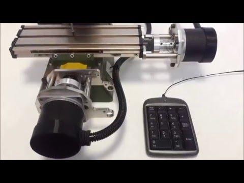 first milling on proxxon mf70 grbl arduino doovi. Black Bedroom Furniture Sets. Home Design Ideas