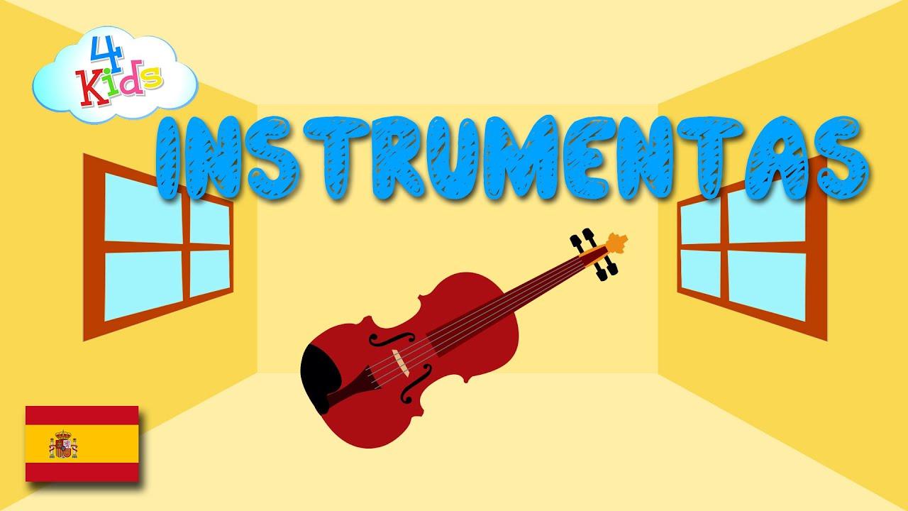 Aprender instrumentos de musica - para niños y niños pequeños (español)