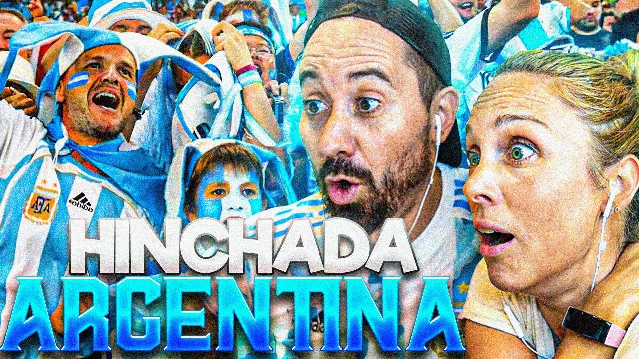 ESPAÑOLA REACCIONA 1ªVEZ a HINCHADAS ARGENTINAS 🇦🇷EPICO🇦🇷