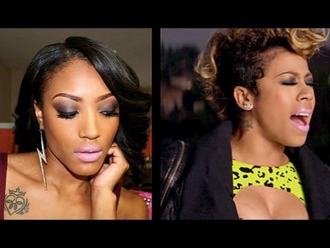 Keyshia Cole - Trust and Believe Inspired Official Music Video Makeup