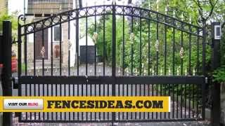 Iron Gate Design Ideas - How To Make Wrought Iron Gates