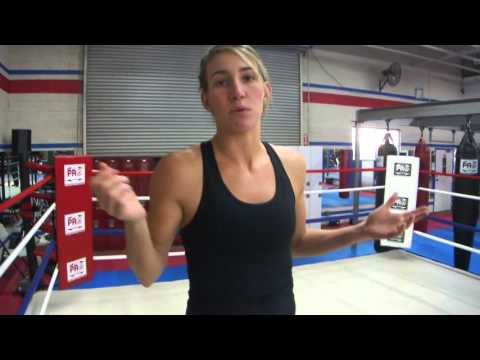 2016 Olympian Boxer Mikaela Mayer Training Tips. Lateral Movement Staying In The Center