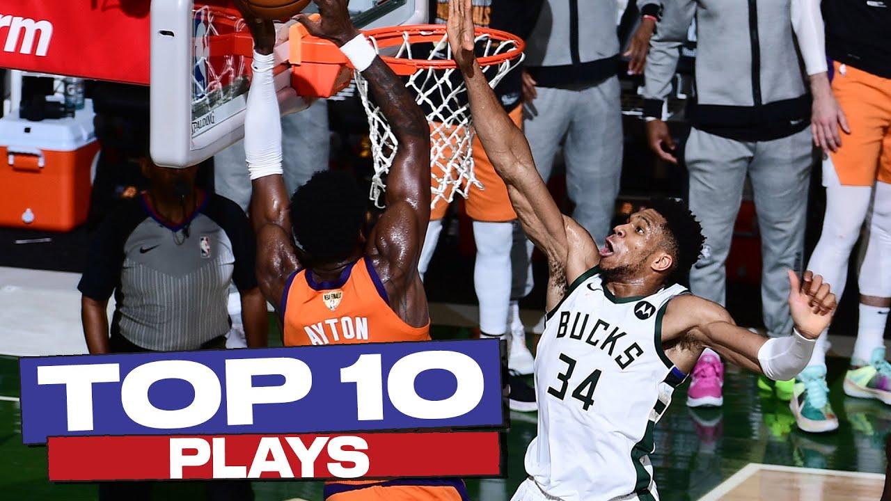 Top 10 PLAYS of the 2020-21 NBA Postseason 👏