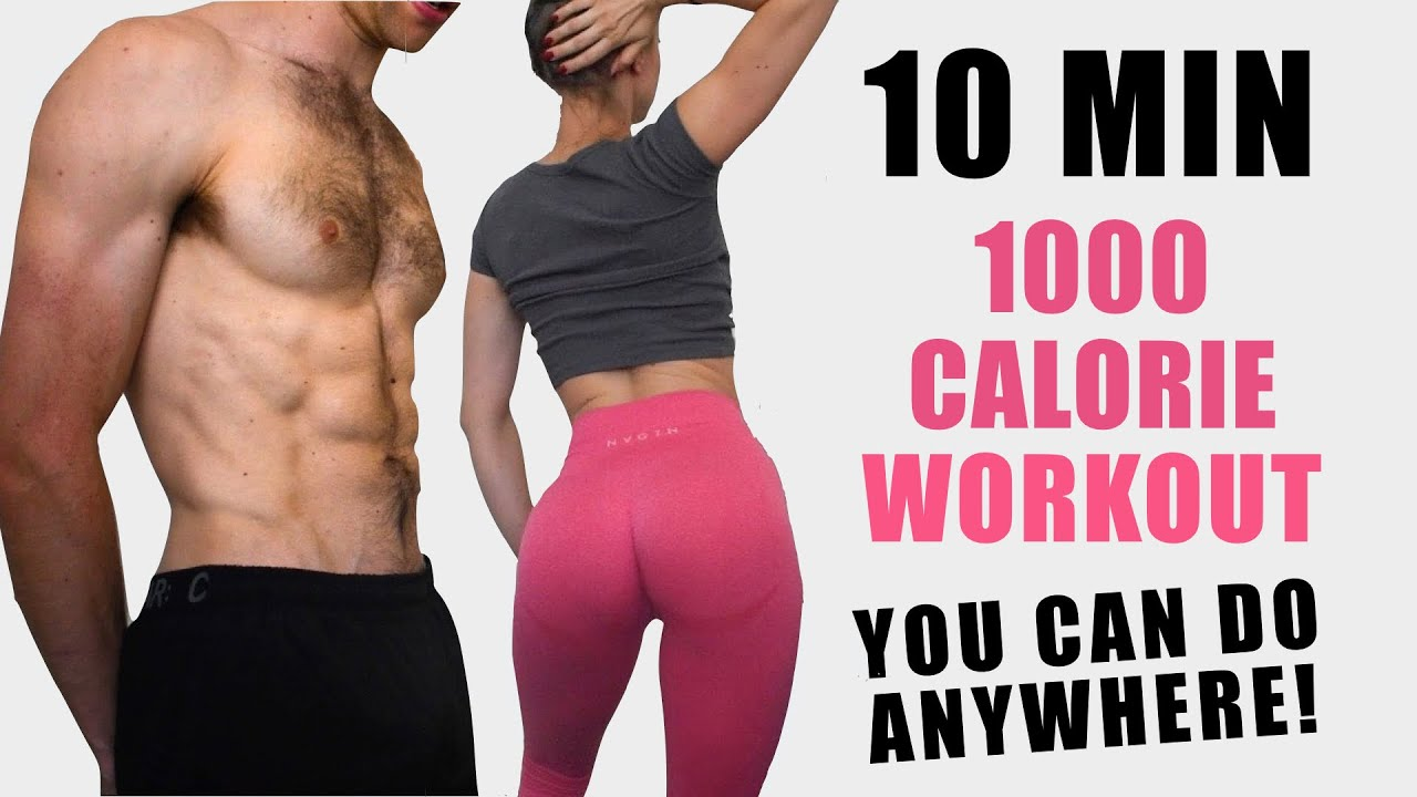 Intense 1000 CALORIE Burn Workout to LOSE WEIGHT FAST ...