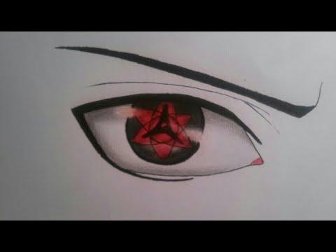 How To Draw Sasukes Eternal Mangekyou Sharingan