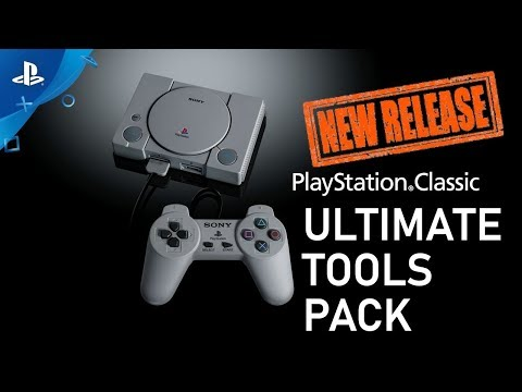 Playstation Classic Ultimate Tools Pack Release