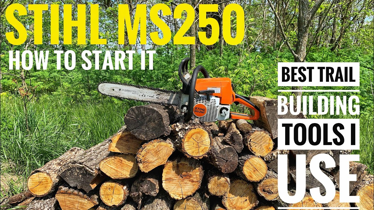 Stihl Ms250 How To Start It